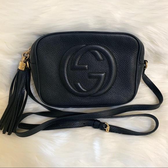 4e60cde31 Gucci Handbags - Authentic Gucci Soho Disco - Black